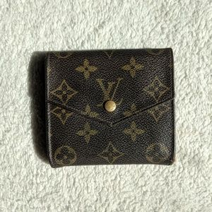 Louis Vuitton Elise Brown Monogram Wallet